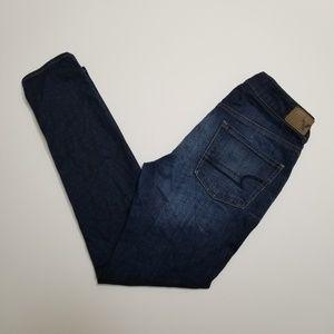 American Eagle Tomgirl Dark Denim Jeans
